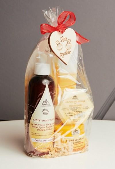 SET Lapte Demachiant, SAPUN 100g, Crema de Maini- resized