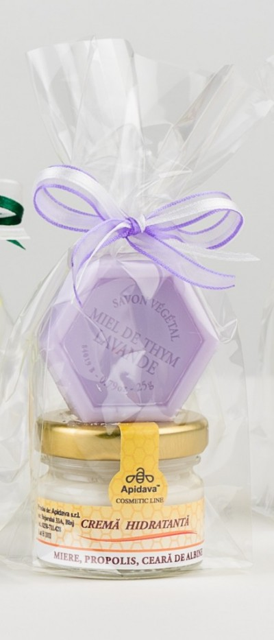 Set Crema Hidratanta cu mini sapun